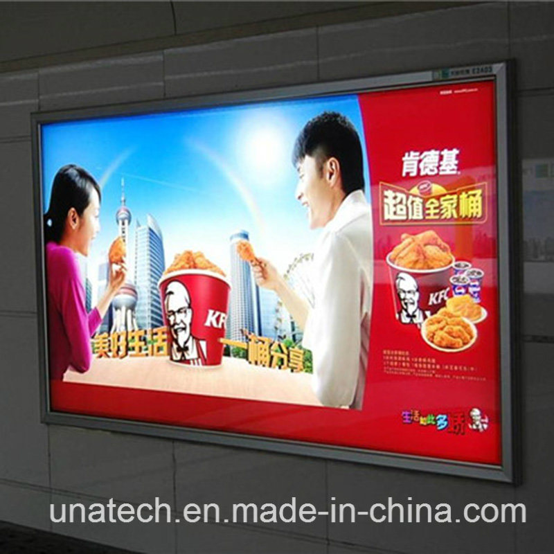 Wall Mount Metro LED Backlit Film Banner Media Advertising/Ads/Ad Outdoor Light Box