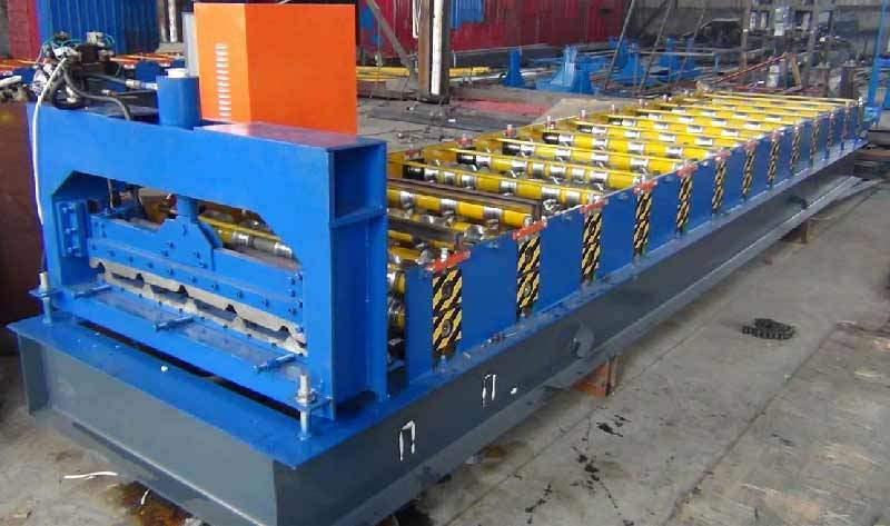 Dx Roof Panel Machine. Roofing Machine Trapezoidal Sheet Making Machine