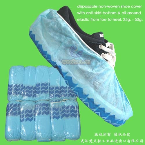 Disposable Non-Skid Shoe Cover