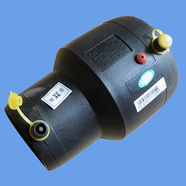 Hot Sale HDPE Reduced Electrofusion Coupling Water Supply PE Pipe Fittings