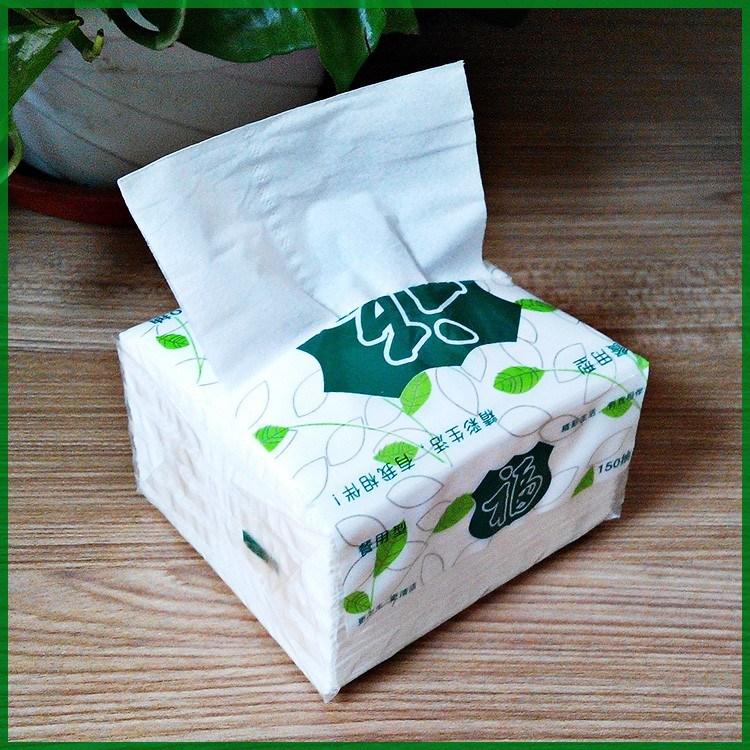 Customer Plastic Packaging Soft Pack Mini Facial Tissue Paper