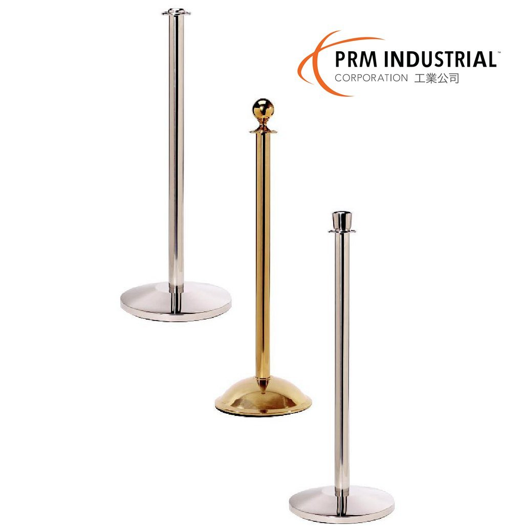 Ropemaster Stainless Steel Crown Control Stanchions