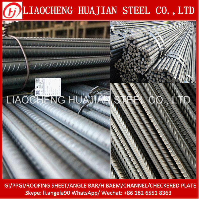 Deformed Steel Rebar Iron Rods for Construction