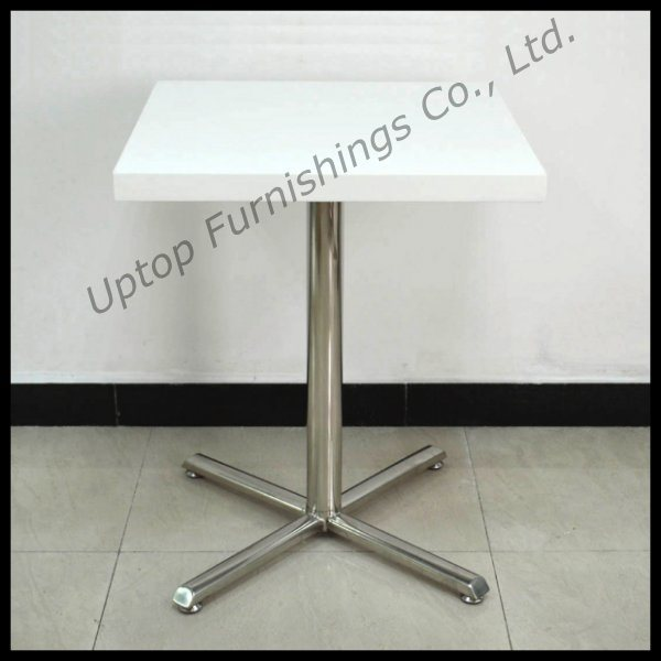 (SP-RT398) Wholesale European Style Square Cafe Restaurant Dining Table