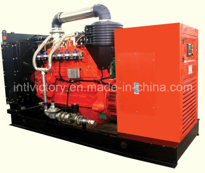 Cummins Natural Gas Engine Generator with CE Certifications (30kVA~630kVA)