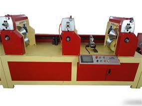L Shaped Paper Edge Protector Machine Flat Cardboard Corners Machine