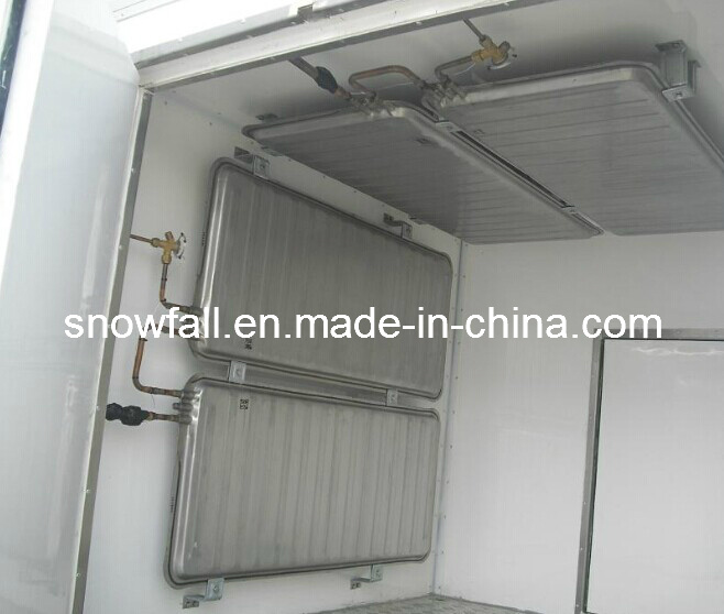 Refrigerated Truck Body (FRP Sandwich Panel) for Ice Cream Transportation