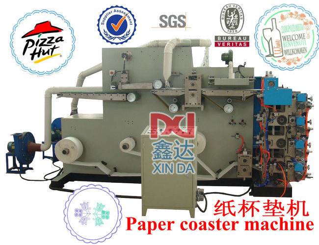 Automatic Paper Coaster Making Machine