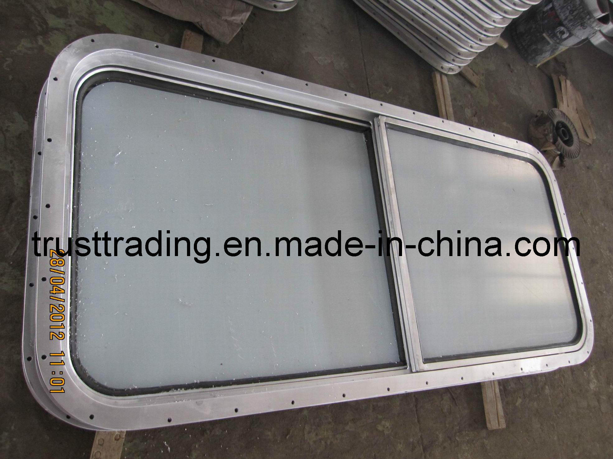 Glass Window / Fireproof Sliding Service Window