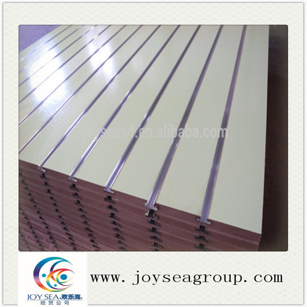 Slotted MDF Board for Hanging Goods Use