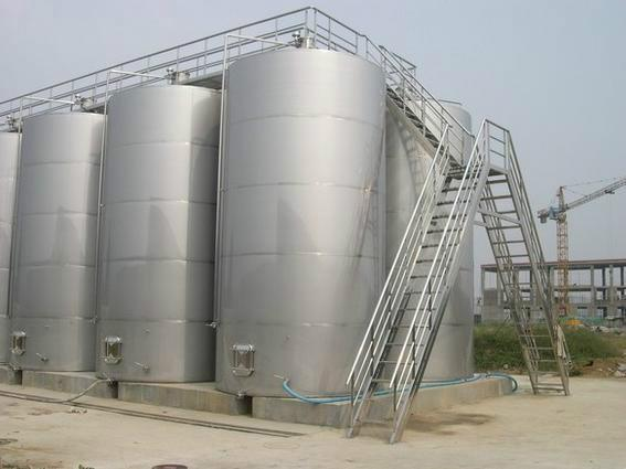 Large Outdoor Storage Tank/ Stainless Steel Tank/ Water Tank