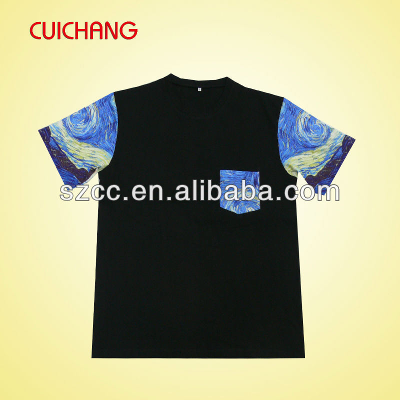 High Quality Sublimation T- Shirt Ts-011