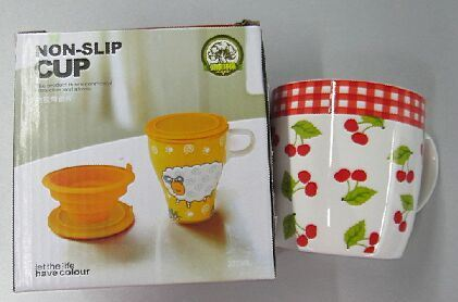 Non Slip Cup Ceramic Cup Porcelain Mug