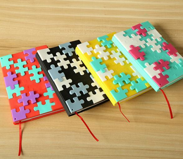 New Silicone Cover Puzzle Notebook