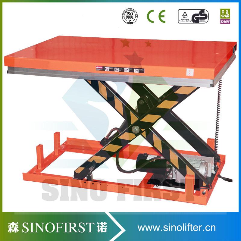 China 2500kg Scissor Hydraulic Table Lift