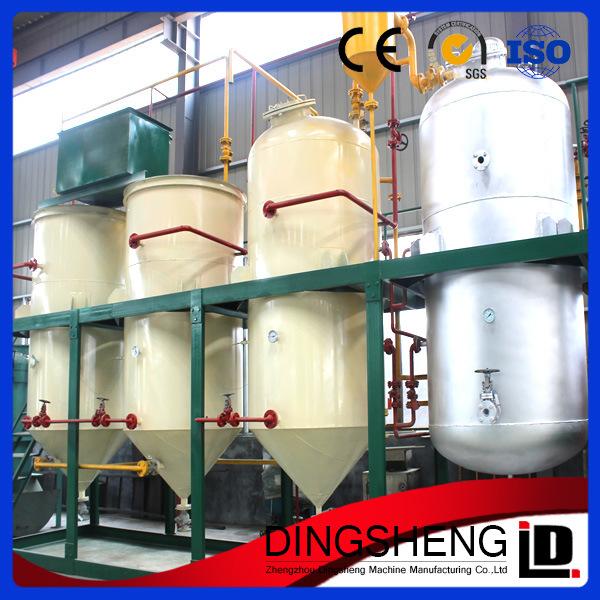 1-10t Small Scale Crude Palm Kernel Oil Refinery Machine