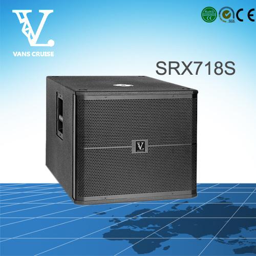 Srx718s Single 18inch PRO Audio Subwoofer Speaker