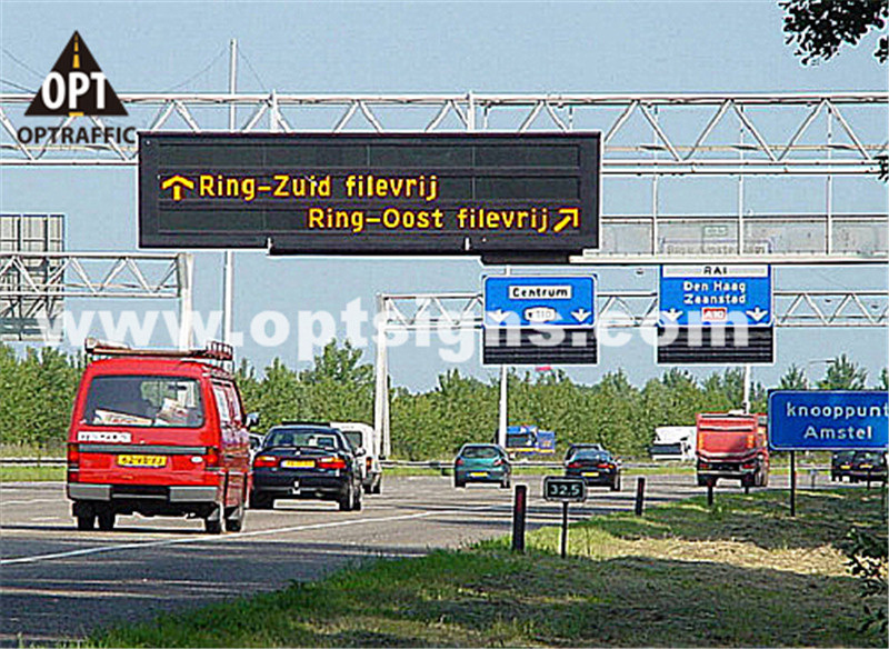 Motorway Highway Speedway Informative LED Traffic Displays