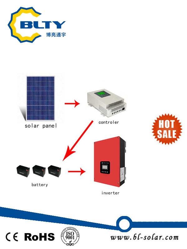 5000W off-Grid Solar Power System Solar Home System