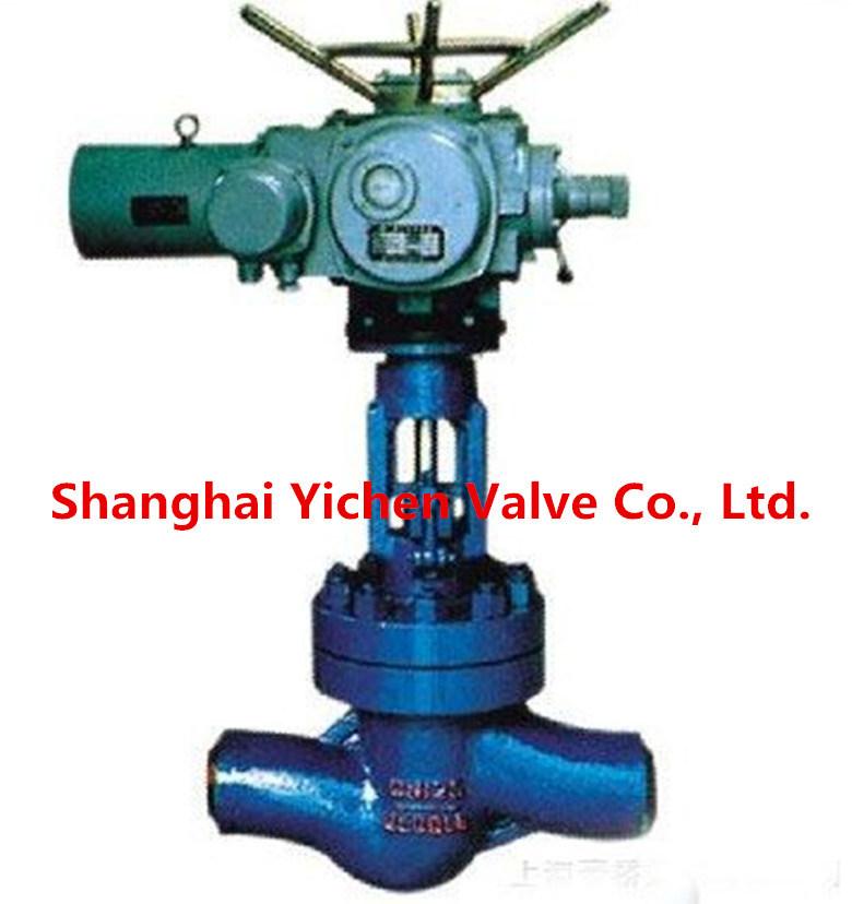 Electric Flange Type China Globe Valve (J941)
