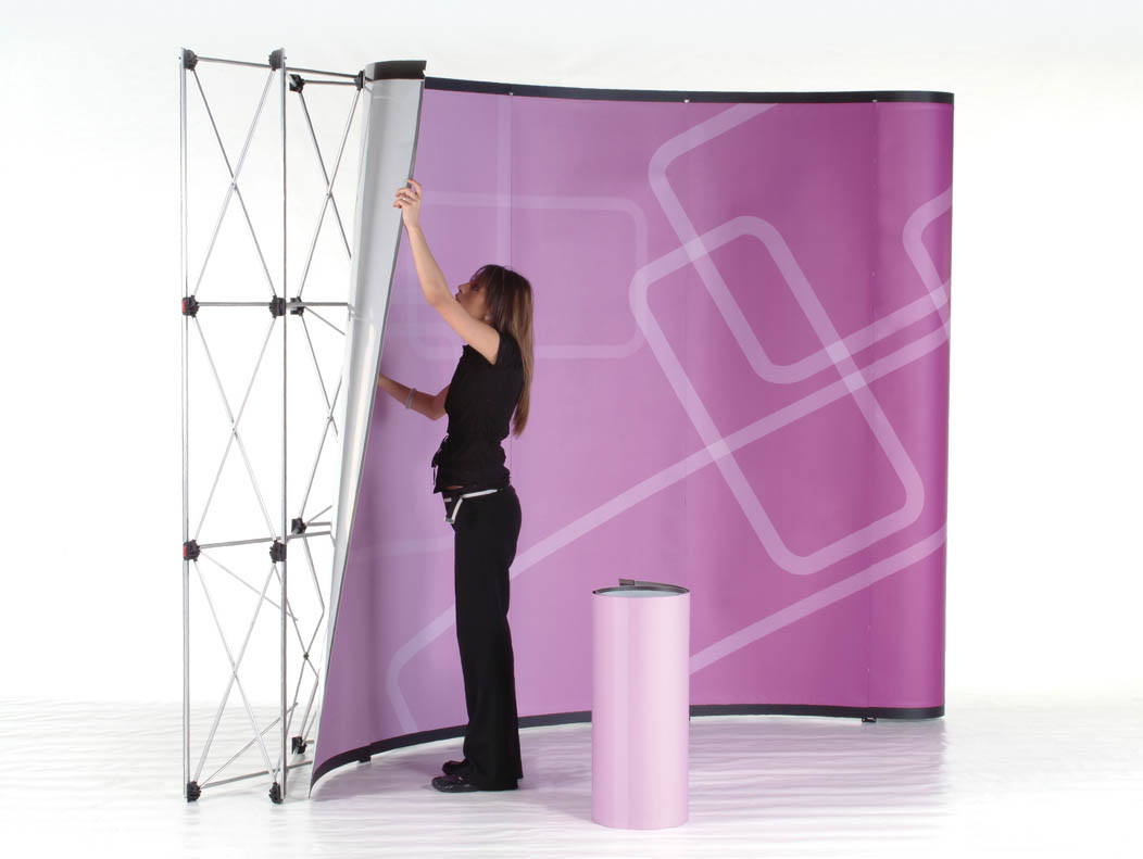 Exhibition Stand Wallpaper : China pop up background display stand