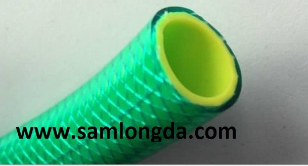 Non Torsion PVC Reinforce Garden Hose (5 Layer)