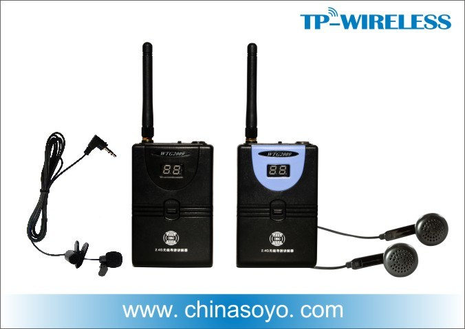 Wireless Whisper Tour Guide (movable Simultaneous Interpretation) Soyo-Wtg02