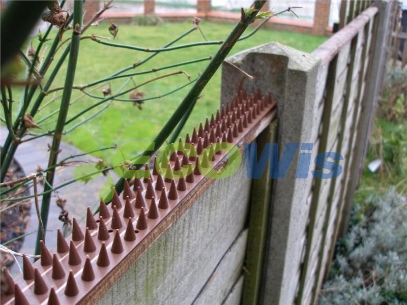 Lawn Yard Anti-Climb Spikes Fence