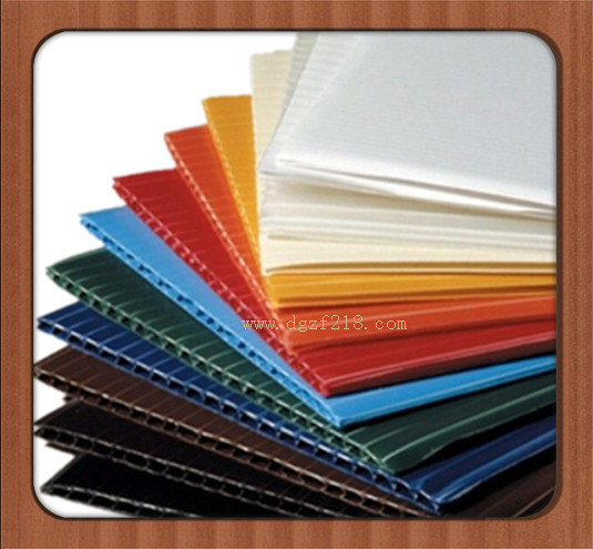 China Colored PP Corrugated Plastic Sheet with High Quality Manufacturer