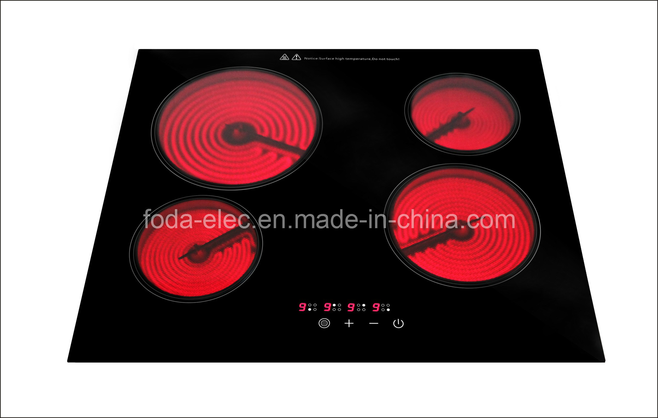 Built-in/Embedded 4-Stove Touch-Type Ceramic/Infrared/Hilight/Hi-Light Cooker /Hob Burner