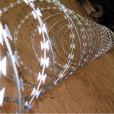 Bto-22 Hot Dipped Galvanized Military Concertina Razor Wire
