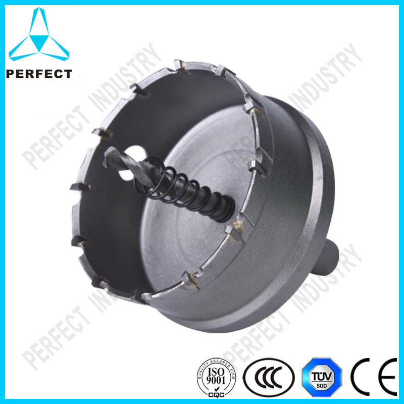 Tct Hole Saw for Drilling Stainless Steel Plate