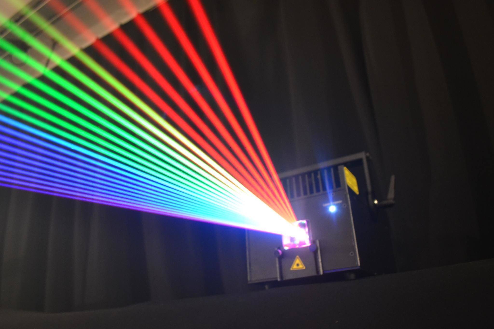 4000MW RGB Animation Laser Wall Projector / Professional Stage Laser Portable Projector