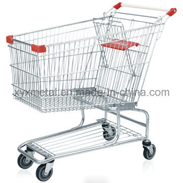 Americam Style 240L Supermarket Shopping Trolley Cart