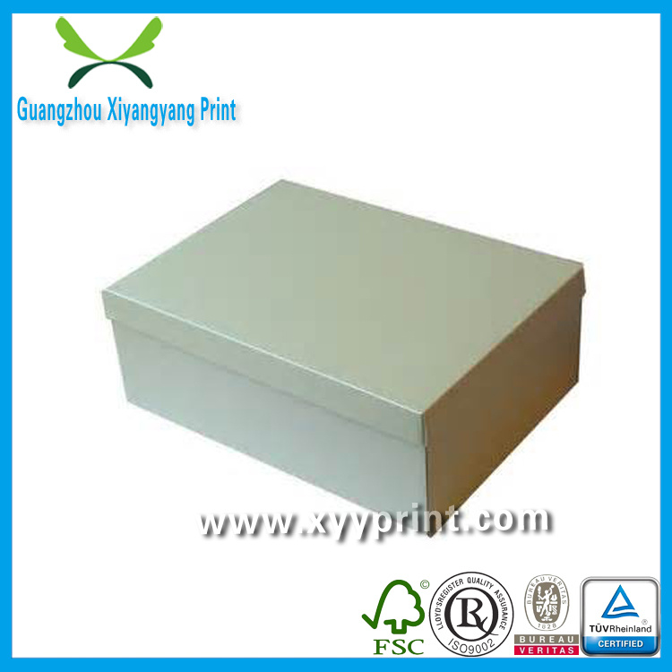 Custom High Quality Strong Cardboard Paper Shoe Box Wholesale