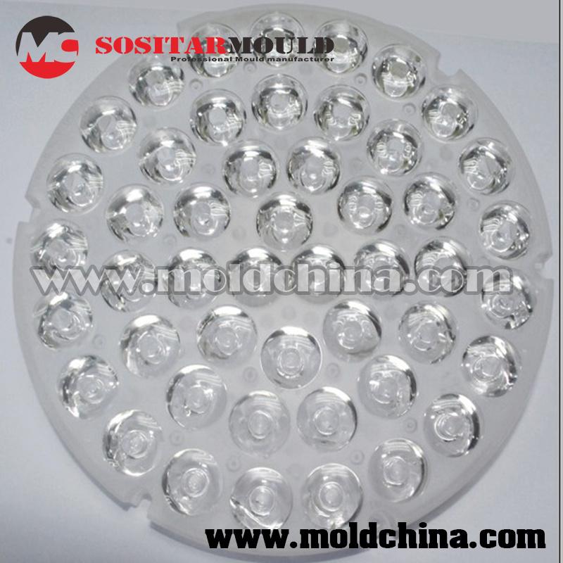 Clear Plastic Parts Manufacturer for Optics