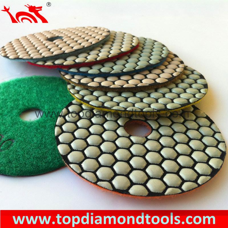 Diamond Flexible Polishing Pads for Polishing and Grinding Stone