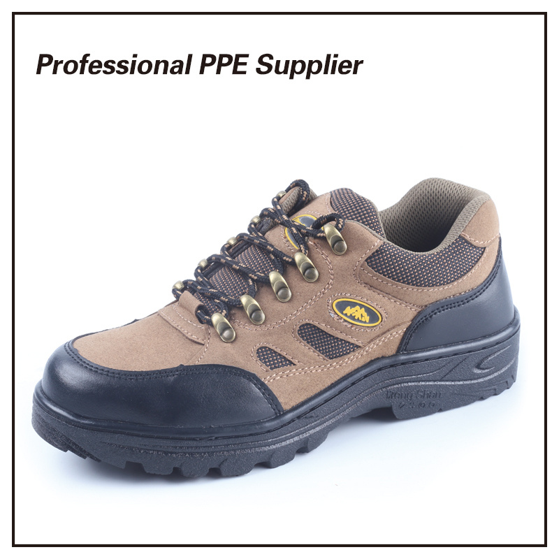 Rubber Outsole Steel Toe Sport Safety Shoes