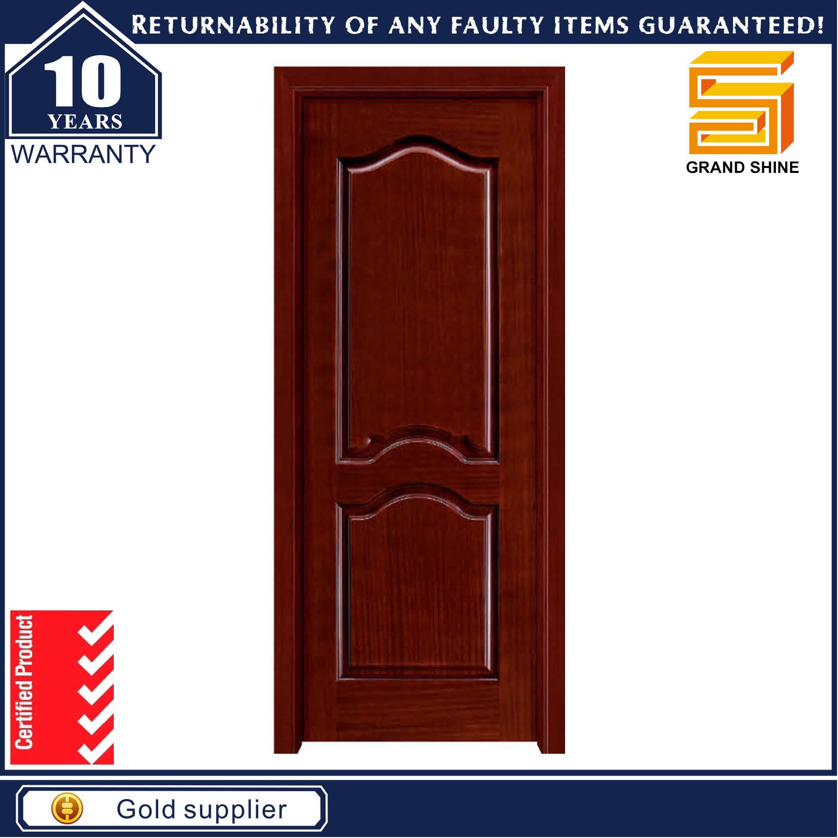 Great China Entrance Solid Composite Wooden Interior PVC Veneer MDF Door   China Wood  Door, Wooden Door