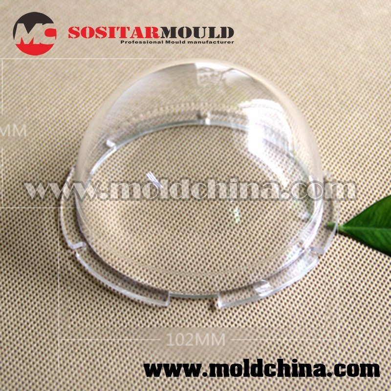 Clear Plastic Parts Manufacturer for Optics