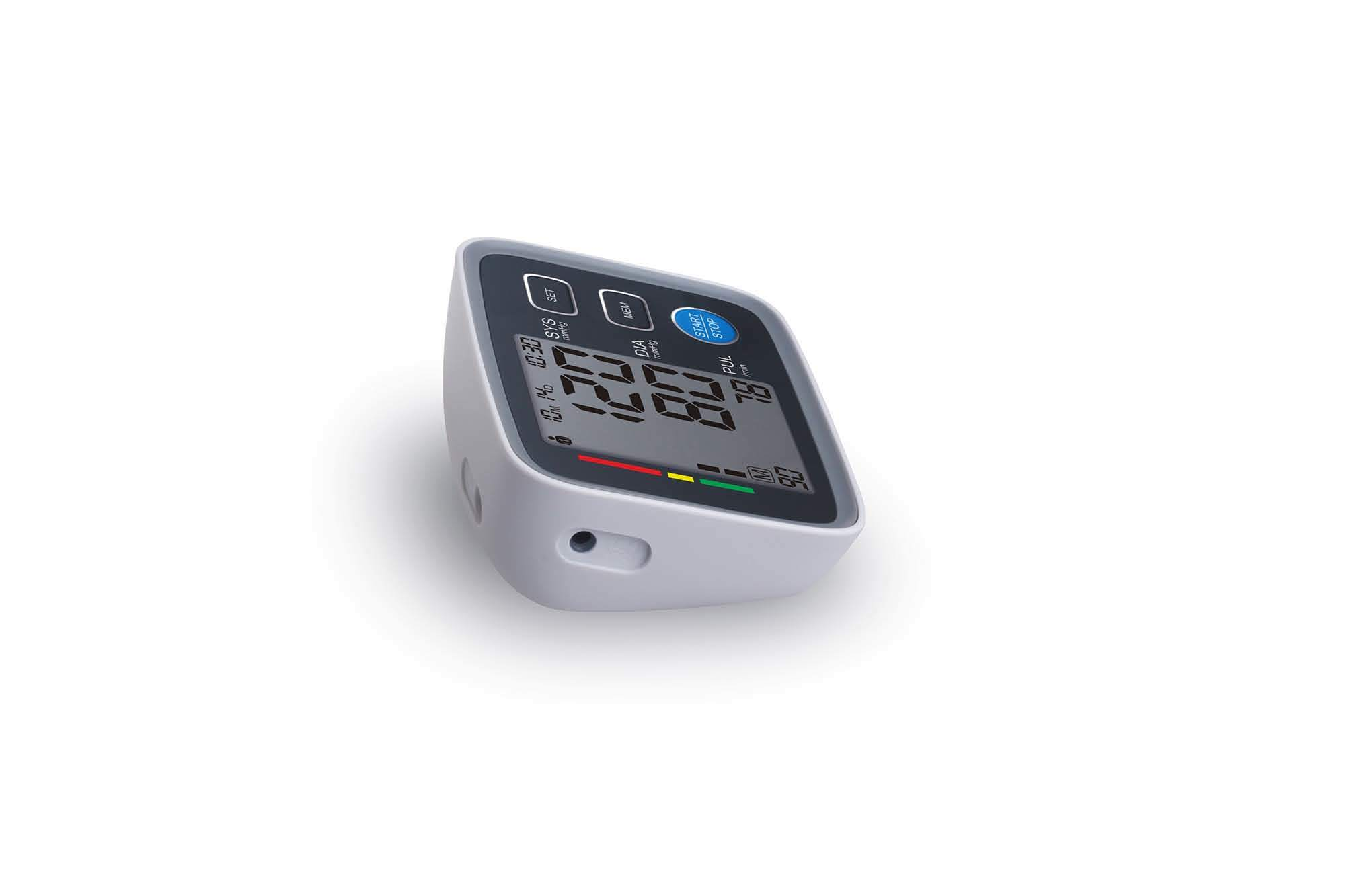 Bluetooth Portable Blood Pressure Monitor Meter Sphygmomanometer