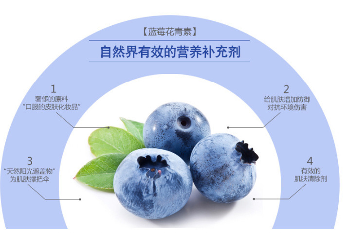 Natural Beauty Blueberry Facial Mask OEM/ODM Whitening Facial Mask