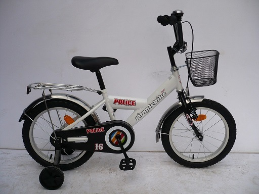"16"" Steel Frame Children Bicycle (1666)"