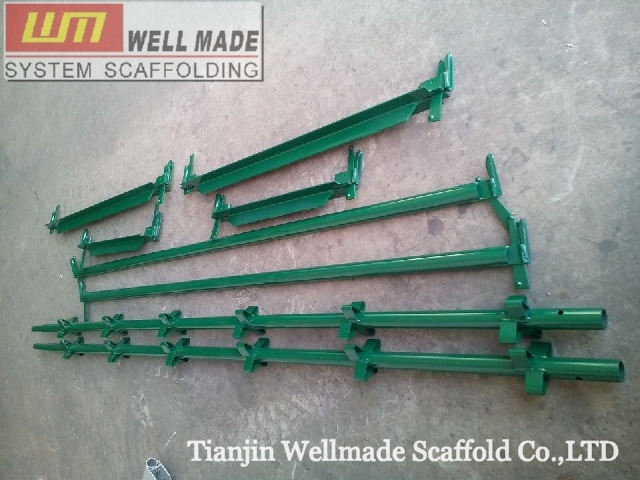 Kwikstage Scaffolding Quick Stage Wedge Lock Steel Scaffold