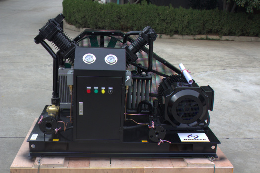V Type Oil Free Nitrogen Booster Compressor for Air Cooled