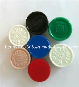 20mm Different Color Aluminum Plastic Flip off Cap for Pharmaceutical Glass Vial Packaging