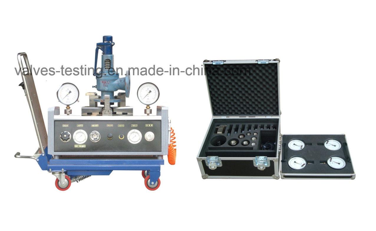 Mini Portable Car Loaded Safety Valves Offline Test Equipment
