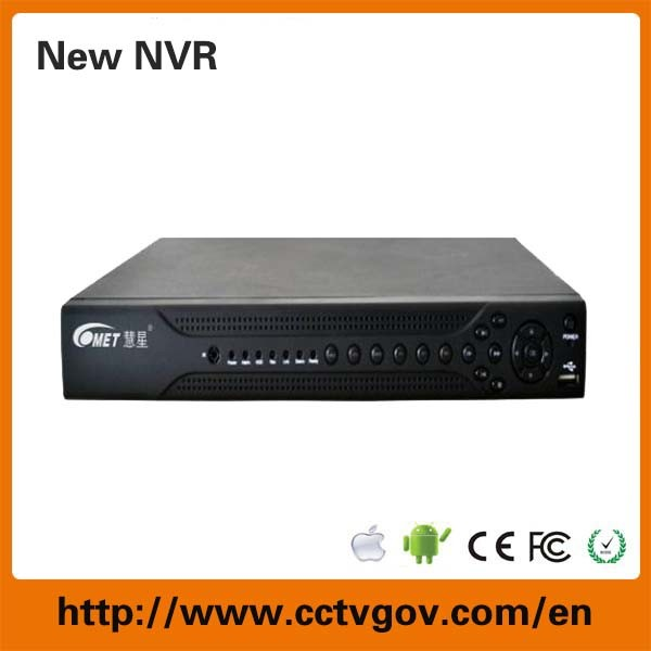 2-SATA H. 264 8CH IP Camera Network NVR with HDMI Onvif P2p