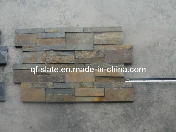 Forme chinois z rusty rouille slate wall culturel placage de pierre forme chinois z rusty for Pierre d ardoise