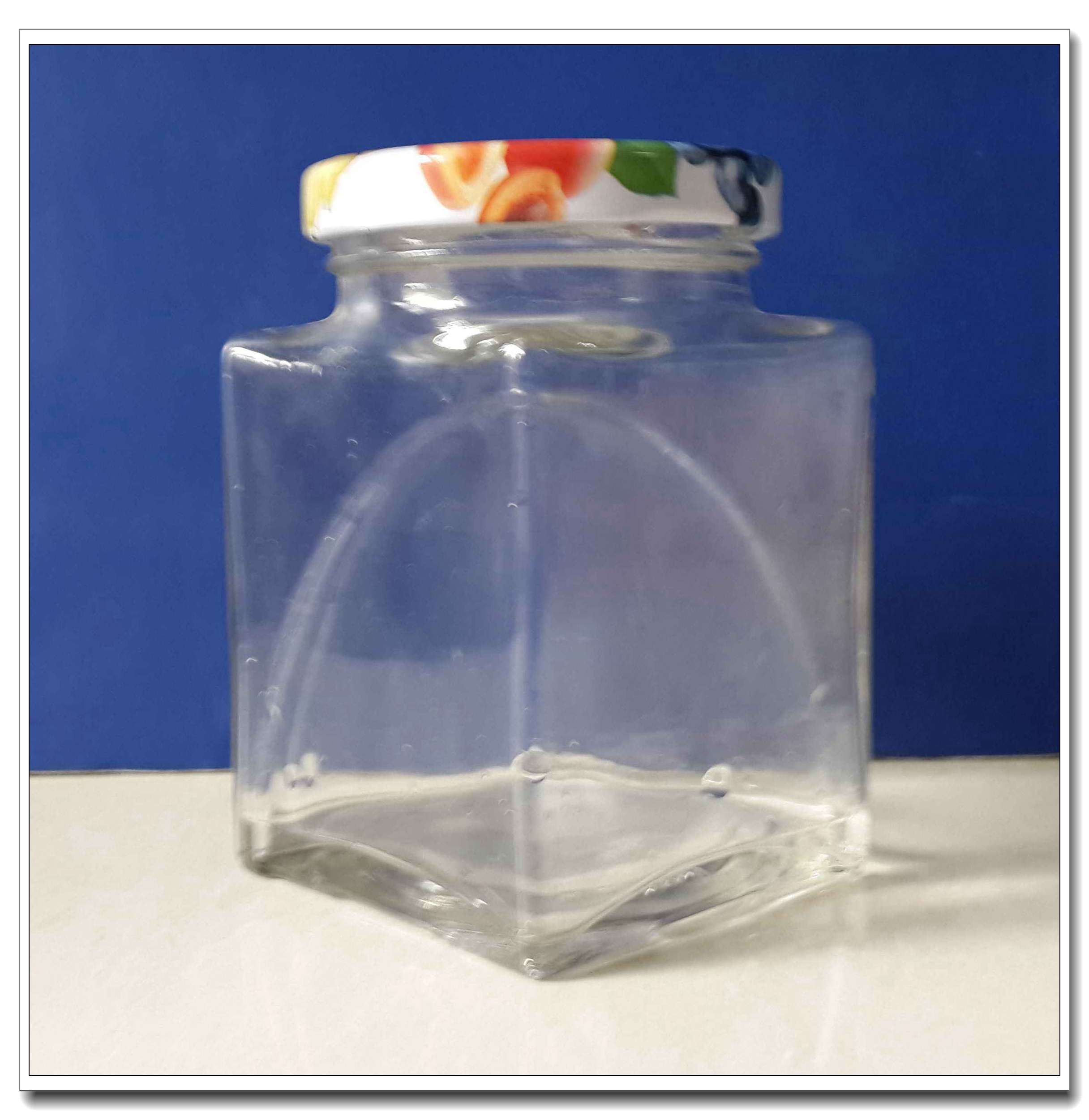 300ml Square Glass Jar Ts2